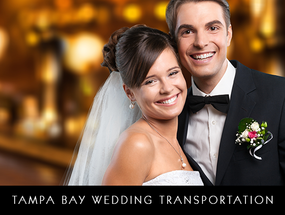WEDDING LIMOUSINE SERVICE SERVING TAMPA BAY